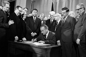 LBJ-Signs-Fair-Housing-Act